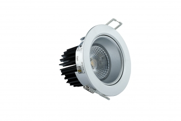 ABS08-68 LED Spot 7 Watt mit Anti-Blend-Reflektor Dimmset